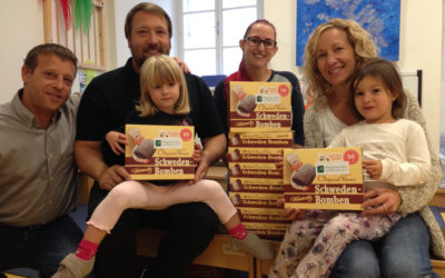 Schwedenbomben für Kindergarten