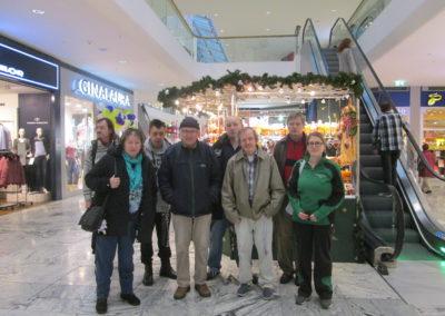 Ausflug in Einkaufszentrum