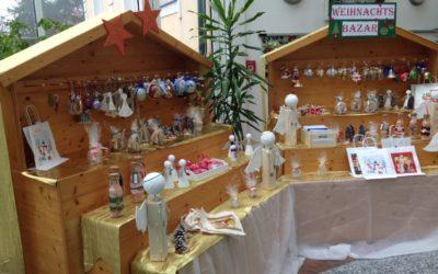 Weihnachtsbasar eröffnet