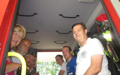 Besuch beim Feuerwehrheurigen