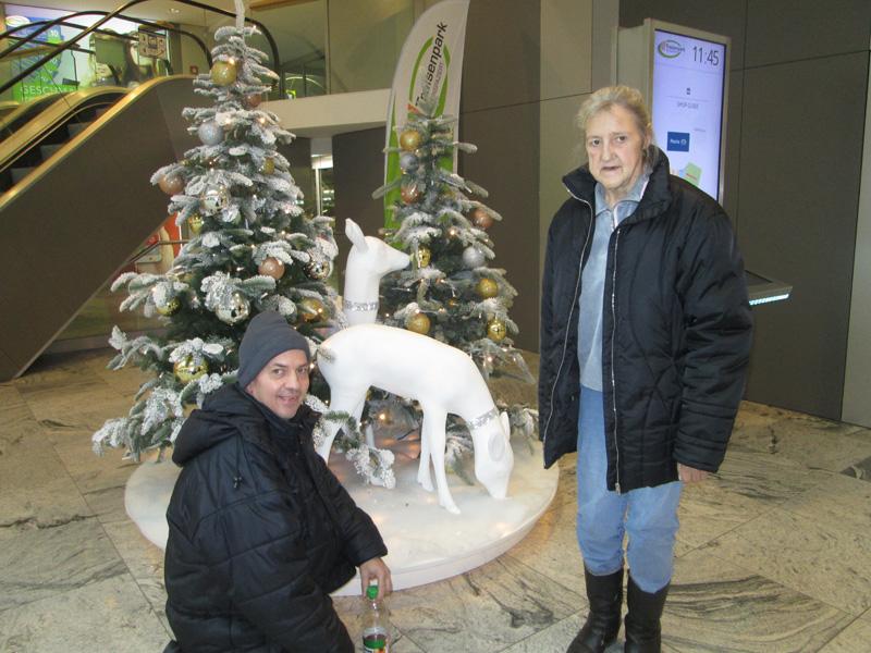 Besuch des Weihnachtsmarktes