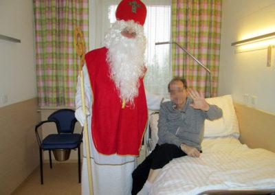 Nikolaus im Pflegeheim Beer