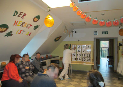 Kürbisfest im Pflegeheim Beer