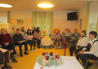 Bewohnerweihnachtsfeier